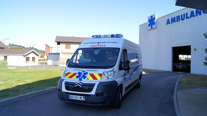 Ambulances Bernard Boccard à Vétraz-Monthoux